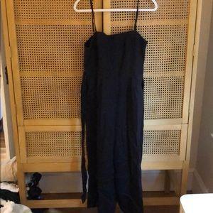 Lightly worn Black J Crew jumpsuit